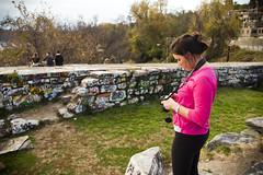 2012 11 12 - 1106 - DC - Georgetown Aqueduct Abutment (thisisbossi) Tags: usa streetart graffiti washingtondc dc nw unitedstates northwest georgetown meganmccarty abutments ward2 aqueductabutment