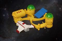 Community Three (pasukaru76) Tags: lego space spacestation habitat moc canon100mm microscale ironbuilder suntron