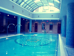 Pool (E Pulejo) Tags: blue vacation pool swimming hotel sunday columns swimmingpool kiev luxury ucraine