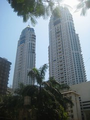Imperial Towers, Mumbai (bodythongs) Tags: india west architecture canon skyscrapers harbour body indian south towers twin caves thongs bombay imperial april maharashtra mumbai elephanta colaba elefanta bombai kanheri maharashtrian        bodythongs