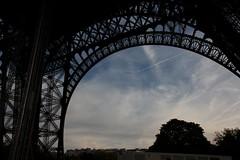 IMG_5132 (marko8904) Tags: park paris france tower architecture plane airplane tour eiffel below underneath pard