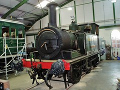Freshwater W8 (Bob Passmore ( steamie bob )) Tags: isleofwight locomotive steamengine freshwater w8 southernrailway havenstreet lbscr isleofwightsteamrailway iwsr a1x