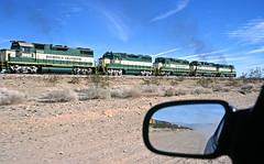 Arizona & California chase (delticfan) Tags: cadiz gp38 gp30 shortlines gp35 arizonacaliforniarailroad arzc3001 arzc3801 azrc3003 azrc3503 azrc3803 azrc3501