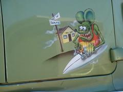 O'side Surfboard Rat Fink (Vegan Feast Catering) Tags: oceanside surfboard surfshop
