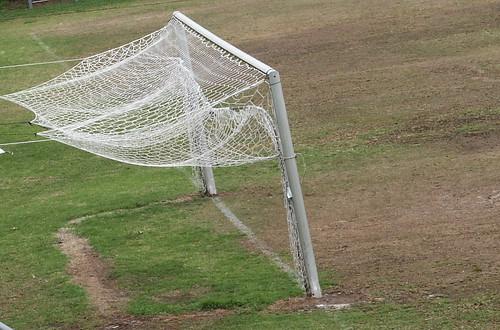 white net canon football goal zeevveez