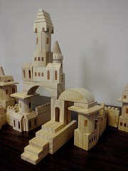 Block Castle with Steps (btusdin) Tags: tower toys steps odc buildingblocks woodenblocks