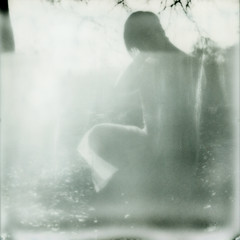 Sinead (kittacabe) Tags: sunset portrait film silver project polaroid sx70 shade instant analogue sonar impossible px100 sineadkerr