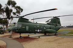 CH-46D Sea Knight, U.S. Marine Corps (154803), California, Marine Corps Air Station Miramar, Flying Leatherneck Aviation Museum (EC Leatherberry) Tags: california museum display aircraft military helicopter ch46 sandiegocounty vietnamwar ch46seaknight marinecorpsairstationmiramar transportaircraft flyingleatherneckaviationmuseum usmarinescorps