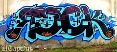 RECK (UTap0ut's Pinche Mero Mole!) Tags: california ca art cali graffiti los paint angeles nct gsf recks
