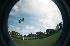 #344 ([ iany trisuzzi ]) Tags: brazil film brasil analog 35mm lomography flag toycamera fisheye fisheye2 project365 365days