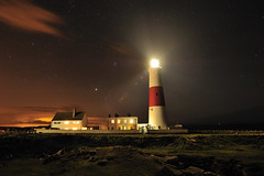 Portland Lighthouse (Mark A Jones (Andreas Jones Photography)) Tags: sunset england lighthouse seascape clouds portland coast nikon rocks dorset southcoast weymouth englishchannel portlandbill portlandbilllighthouse portlandlighthouse leefilters d700