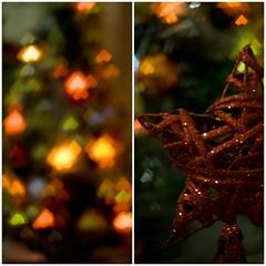 Heart (Sabrus Sooz) Tags: christmas colors 50mm navidad bokeh fiestas christmastree colores arboldenavidad shapedbokeh