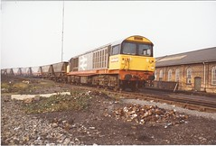 Railfreight 58 (unidentified) @ Toton (James DEMU) Tags: wagon shops coal mgr haa 58 toton railfreight class58