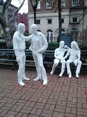 Christopher Park (The All-Nite Images) Tags: park city nyc urban sculpture art manhattan westvillage metropolitan lowermanhattan greenwichvillage christopherstreet manhattannyc nycpictures