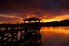 McClellanville Sunset 3 (Bradley Nash Burgess) Tags: light sunset color sc water lumix dock dusk southcarolina panasonic mcclellanville gf2 mcclellanvillesc panasoniclumixgf2