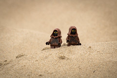 Jawas (David Lim) Tags: lego batman rey star wars r2d2 bb8 c3po beach wonder woman jawa