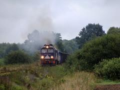 M62-2848 (MarSt44) Tags: koomna m62 m62k m622848 kolej polska orion gagarin iwan sergei poland diesel power smoke railway private podsundecka