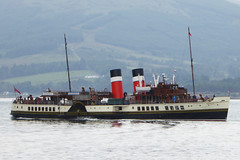 SS Waveley at Rothesay (Briantc) Tags: scotland bute isleofbute rothesay reflections reflection waverley sswaverley ship paddlesteamer steamer