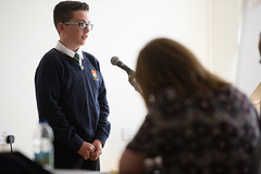 SpellingBeeFinal2016_km162 (routesintolanguages) Tags: uk wales kids modern competition aberystwyth using learning spelling welsh language foreign schoolkids talking schoolgirl schoolgirls pupil speaking vocabulary pupils spellingbee 2016 year7 europeaan wjec schoolkind langiages medrus
