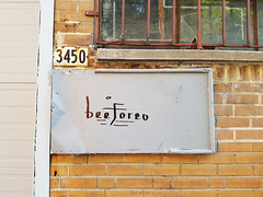 beeforeo (Exile on Ontario St) Tags: beeforeo mailbox bote lettres boteauxlettres mail box letterbox letter beef oreo cookies boeuf adresse address plaque montreal plateau plateaumontroyal entrance back alley backdoor door graffiti sharpie calligraphy lettrage lettre letters montral
