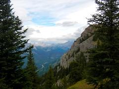 Mt Hood Summit Scramble - View to north from King Creek RIdge (benlarhome) Tags: kananaskis alberta canada mthood mounthood summit gipfel peak rockies rockymountain mountain gebirge montagne trail path route scramble scrambling hike hiking trek trekking