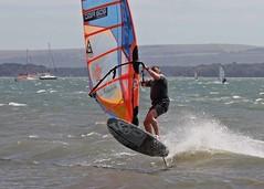 Aug0302a (Mike Millard) Tags: hamworthypark pooleharbour windsurfers