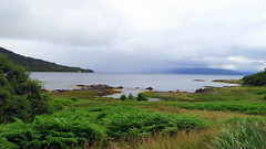 Le loch Lomond (LILI 296 ...) Tags: canonpowershotg7x lochlomond lac eau brume ecosse highlands paysage fougre