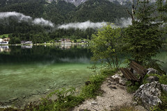 Standstill (creyesk) Tags: peace serenity rain calm lake hintersee berchtesgaden ramsau germany landscapes