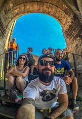 2016-08-08 13.59.48 (fabioianniciello) Tags: friend fisheye dave hill davehill color gabby marche italy