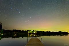 Eagle Lake Aurora (www.adamcimages.com) Tags: nikon d800 20mm f18g long exposure nisi filters full frame dslr night sky eagle lake central frontenac kingston ontario canada aurora borealis northern lights