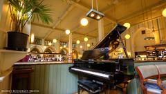 Browns Bristol (AreKev) Tags: brownsrestaurant browns restaurant brownsbristol inside interior blackpiano piano queensroad clifton cityofbristol bristol england uk hdr photomatixpro nikond7100 nikon d7100 sigma 1020mm 1020mmf456exdchsm