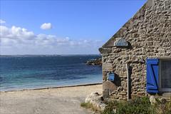 Chez Laurette (chando*) Tags: bleu blue bretagne brittany chezlaurette finistre house island maison mer sea ledebatz