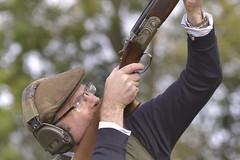 Clay Pigeon Shoot  Redleaf (Kentish Plumber) Tags: redleafshoot clay claypigeon shoot shotgun 12gauge 12bore kent uk cartridgecufflinks aim headphone eardefenders hat cap beretta