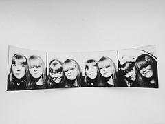 Berlin (Ulrika Eva Karolina) Tags: berlin fotoautomat photobooth bw svartvitt