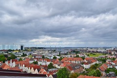 Blick ber Wismar (chrissie.007) Tags: aussichtsplattform mecklenburgvorpommern hansestadt wismar stgeorgenkirche deutschland norddeutschland aussicht
