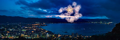 Lake Suwa Fireworks (shinichiro*) Tags: 諏訪市 長野県 日本 jp 20160815ds38126 2016 crazyshin nikond4s planart1450zf 諏訪湖 lakesuwa nagano fireworks summer august 201611gettyuploadesp 29571037411 sold 2017sold 201703sold