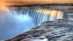 Niagara Sunrise (jed52400) Tags: niagarafalls horseshoefalls ontario waterfalls nature longexposure
