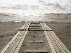 Beach Parnu (nikjanssen) Tags: beach parnu sand symmetric