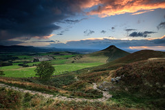 Night of the Hunters (johnkaysleftleg) Tags: roseberrytopping sunset stormy northyorksmoors northyorkshiremoors nationalpark yorkshire path tree hill canon760d sigma1020mmf456exdchsm ndhardgrad12