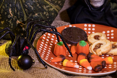 Plated Cookies and Halloween Decor (Transient Eternal) Tags: events halloween bad black bones candies candy cape celebration cloak cookies costume death dessert drape evil fangs fear frighten ghosts ghoul goblin gore gourd grimreaper holiday mask monster nightmare plate pumpkin scary skeleton skull spirit teeth terrifying