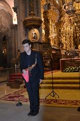 Diesgo Basadre, saxofonista en la Catedral