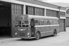 AAO34B Cumberland 231 (lenmidgham) Tags: 1960sbus bwscan bristol bristolcommercialvehicles cumberland ecw