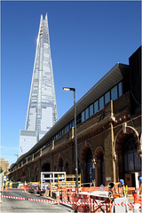 London Bridge Station and The Shard (Bill-Green) Tags: theshard londonbridge construction