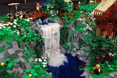 Other MOCs 17 (L@go) Tags: castle oslo norway lego anniversary medieval arena diorama telenor fornebu bygge landet dalheim brikkelauget