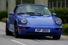 Porsche, 964, Carrera 2, West Kowloon, Hong Kong (Daryl Chapman Photography) Tags: auto china road door camera blue windows money west colour cars window car canon hongkong lights drive is photo cool automobile asia flickr doors photographer power ride photos sale great 911 engine mirrors fast move motors ii german porsche buy vehicle driver 5d rides tax motor autos roads value dslr  kowloon quick f28 sar horsepower 964 mkiii motorcar carspotting 70200l carrera2 worldcars darylchapman np993