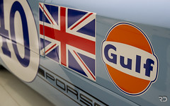 Gulf Variation 2 (Raph/D) Tags: blue orange car museum race john germany jack eos gulf leo stuttgart flag brian union automotive racing muse bleu pedro porsche 7d winner 1970 legend allemagne variation myth rodriguez redman targa porscheplatz 908 florio zuffenhausen kinnunen jwa porsche908 wyer 90803 siffert