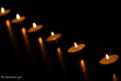 This light, this flame, this glow. You. (Stuti ~) Tags: light reflection festival lights candles candle dof bokeh row burning flame burn match diwali festivaloflights bokehwhores stutisakhalkar thecheesecakeproject