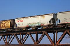 Perv (The Braindead) Tags: street art minnesota train bench photography graffiti painted tracks minneapolis rail explore beyond perv the