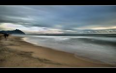 Talk to the wind (Sante sea) Tags: longexposure sea italy italia mare sabaudia circeo