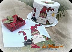 Kit Cozinha_Natal (Anny Sais) Tags: natal flordemaio presentedenatal panodeprato portaguardanapos portapanetone patchaplique annysais
